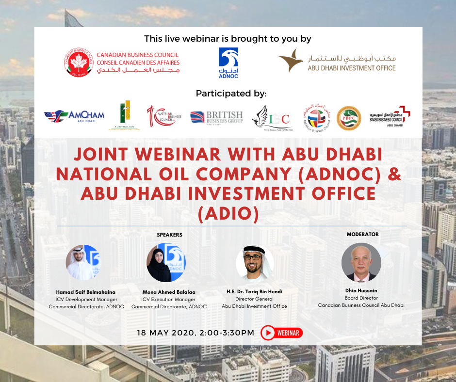 Joint webinar with ADIO and ADNOC