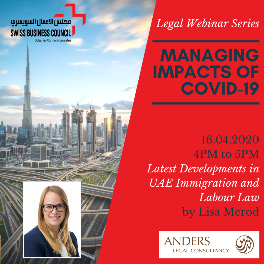 Managing Impacts Of COVID-19: Latest Developments In UAE